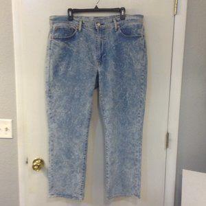 Levi`s  541  38X30 acid washed jeans